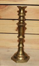 Vintage hand made brass candlesticks