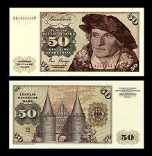 * * * 50 Deutsche Mark Geldschein 1980 Alte deutsche Währung * * *
