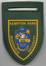Süd-Afrika SAP KEMPTON PARK Sekerheid Security  Police Patch  Polizei Abzeichen