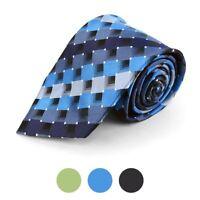 Plaid Pattern Men's Necktie (MPW5729)