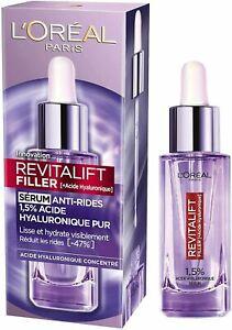 L'oréal Revitalift Filler Sérum Anti-Ride Lisse Hydrate 1.5 % Acide Hyaluronique