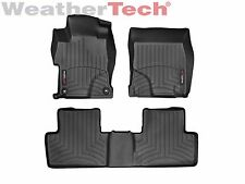 WeatherTech Floor Mats FloorLiner for Honda Civic Sedan - 2014-2015 - Black