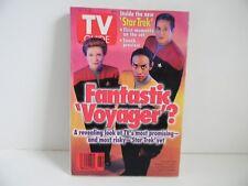 TV GUIDE  -  STAR TREK FANTASTIC 'VOYAGER'?  -  ISSUE 2181  VOL 43 NO 2  -  1995