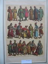 Originaldrucke (1800-1899) aus Russland mit Lithographie