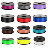 3D Printer Filament PLA ABS 1.75mm 3mm 1kg 2.2lb For RepRap MakerBot Print Pen