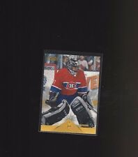 1996 Pinnacle Rink Collection #217 Jose Theodore Montreal Canadiens