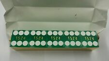 """Casino Quality Sand Finished Green Stick of 5 Precision Dice 3/4"""" A Grade New"""