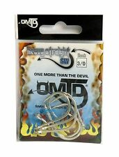 AMI SINGLE SMART HOOKS OMTD by Molix HEAVY STRAIGHT SW - OH2000 SIZE: 3/0