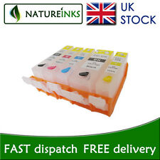 5 Refillable ink cartridge to replace Canon PG520 CLI521 refill iP3600 iP4600