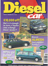DIESEL CAR & 4x4 MAGAZINE | December 1995 | Test: Peugeot 806
