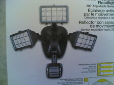 Nib Outdoor Motion-Activated 300-degree Sensor 3-Lite 250-W Security Floodlight