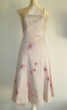Embellished Party Dress Size 8 by designers Teatro RRP £99 Gorgeous!
