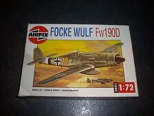 AIRFIX  FOCKE WULF FW190D PLASTIC MODEL 1/72
