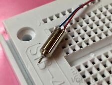 Ultra-Light 0.71 gram Tiny Micro Motor, 10000 RPM, 1.1V 1.5V 3V DC, 10mm x 4mm