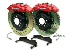 Brembo Front GT Brake 8pot Red 380x34 Drill Escalade 02-06 Chevy GMC 1500 00-06