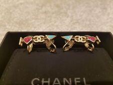 CHANEL Pearl Costume Earrings