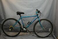 "1992 Fuji Thrill MTB Bike Medium 17"" Hardtail Rigid Canti Cromoly Steel Charity!"