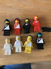 Lego Classic Rare Space Minifigure Collection 8 Rare Figures