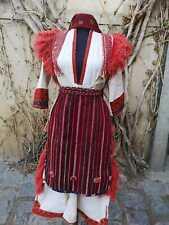 Ethnic women's costume from Mariovo, everyday use costume