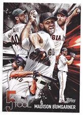 2017 Topps Series 1 Oversized – Madison Bumgarner 5 Tools 5x7 Card 23/49