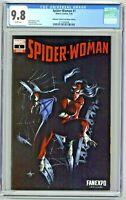Spider-Woman #1 CGC 9.8 Unknown Comics Convention Edition Dell'Otto Variant