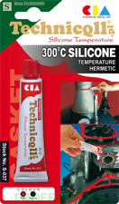 TECHNICQLL RED HIGH TEMPERATURE 360°C SILICONE Heat Resistant glue 20ml