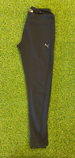 Puma Pila Seca Leggings Negro Largo Size UK 10