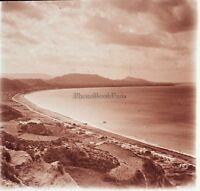 Tiberias Galilea Israele Terra Sainte Foto Placca Da Lente Stereo 1935