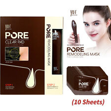 Pore Remodeling Cleansing Mask & Clear Pad 10 2 Blackhead Removal Gift