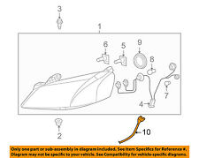Pontiac GM OEM 05-07 G6 Headlight Head Light Lamp-Harness 15257561