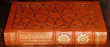 "Muhammad by Maxine Rodinson  Easton Leather ""Great Lives"" Fine copy"