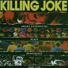 KILLING JOKE - INSIDE EXTREMITIES, MIXES, REHEARSALS AND LIVE 2CDs (New Sealed)
