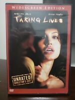 Taking Lives (DVD, 2004, Unrated Director's Cut, Widescreen)