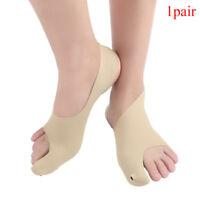 1Pair Adult Belt Elastic Line Bunion Protector Sleeve Toe Spreader Corrector Fp