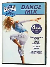 Crunch Fitness Dance Mix 4 DVD Workout Set (DVD) *BRAND NEW* Sealed