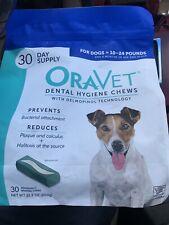 New listing Merial Oravet Dental Hygiene Chew For Dogs (10-24 Lbs), Dental Treats For
