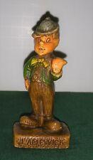 Lampwick Syrocco Syroco rare figure 1940's Vintage Disney figure