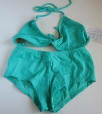 VINTAGE 90s NWT Brazilian Shorts Bikini & Top Swimsuit Set Lot LARGE