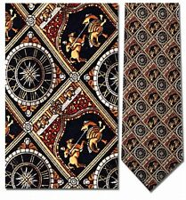 Saint George Slaying the Dragon Medieval Men Silk Neck Tie 8478