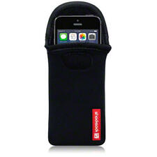 SHOCKSOCK Neoprene Custodia Cover Marsupio Per Nuovi iPhone 5 / 5S / SE-Nero
