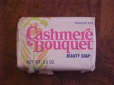 ✔✔✔ VTG CASHMERE BOUQUET ✔Beauty Soap 3.5oz Rare Antique ✔BATH NOS OLD STOCK