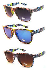 6 Pairs Brand New Wayfarer Sunglasses Wholesale/Assorted Colours/UV400/010