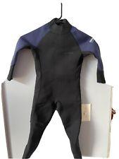 Youth Wet suit ~ size 6 ~ Black w Blue trim ~ by Dark Lightning