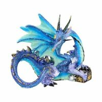 PIASA 12cm Gothic Dragon Fantasy Figurine Ornament Nemesis Now Gift - FREE P+P