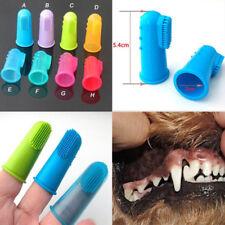 Soft Pet Finger Toothbrush Teddy Dog Brush Bad Breath Tartar Teeth Tool Chic