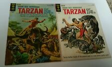TARZAN OF THE APES #141 & #144  Apr 1964 Gold Key George Wilson Painted Cover