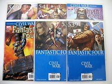 Fantastic Four - Series 3 - #536 + 538-541 + 543 - Marvel - High Grade - 6 Books