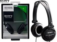 SONY MDR-V150 BLACK DJ Sound Monitoring Stereo Headphones Original / Brand New
