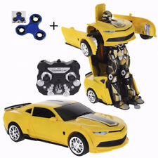 Homespired® Bumblebee Transformers RC Robot Car Wireless Remote Control 2.4GHz
