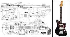 Jazzmaster-Style Electric Guitar Plan